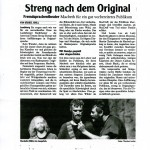 Macbeth – Landsberger Tagblatt – Deutsch